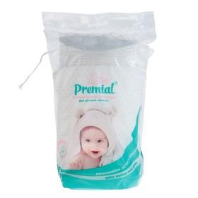 Ватные диски Premial детские, 40 шт. + 14 шт. Ош