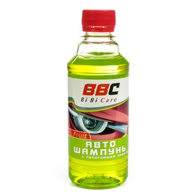 Автошампунь BiBiCare концентрат с полирующим эффектом, фруктовый,  280 мл