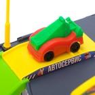 Парковка детская «Гараж», 2 машинки, аксессуары - фото 106532535
