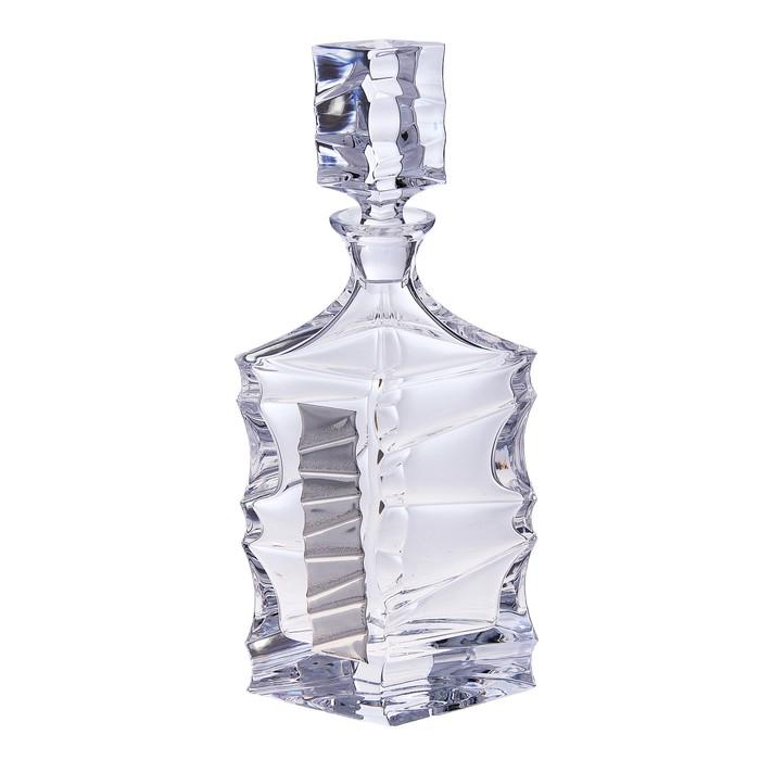 """Набор для виски """"Джим Спот"""" (графин, 6 бокалов 250 мл.) - фото 440908003"""
