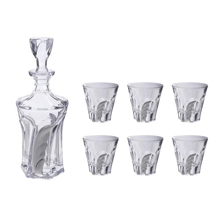 Набор для виски (графин, 6 бокалов 230 мл.)
