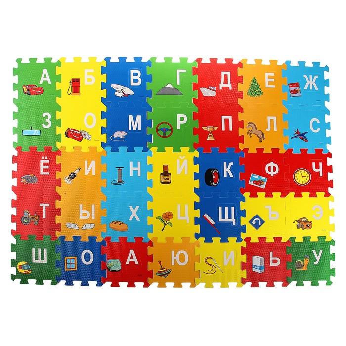 """Коврик-пазл """"Тачки"""", 36 элементов"""