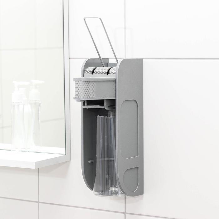 Диспенсер для жидкого мыла локтевой, 1000 мл - фото 798893010