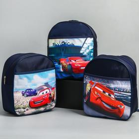 Backpack Cars small, 18 * 8 * 22, zippered, n / pocket, black MIX