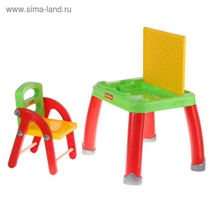 набор детской мебели стол для творчества со стулом 770929