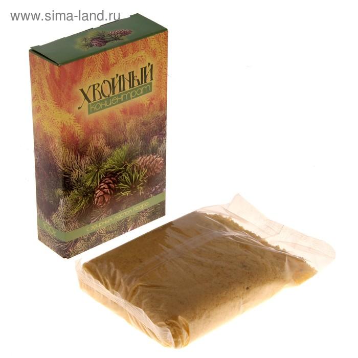 """Морская соль для ванн """"Хвойный концентрат: Кедр"""", в картонной коробке, 900 г"""