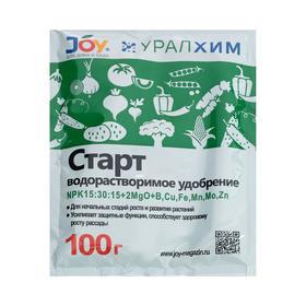 """Удобрение водорастворимое JOY """"Старт"""", 100 г"""