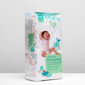 Panty diapers, Offspring M 6-11 kg. 42 pcs. Jungle coloring