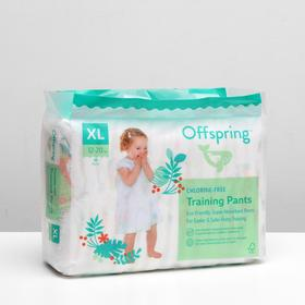 Panty diapers, Offspring XL 12-20 kg. 30 pcs. coloring Forest