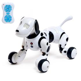 Робот - собака, радиоуправляемый «Долматинец», русское озвучивание, работает от аккумулятора