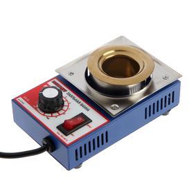 Паяльная ванна REXANT R38, 100 Вт, d=38 мм, 200-480 °C, до 300 г припоя