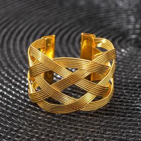 Кольцо для салфетки «Сфера», цвет золото