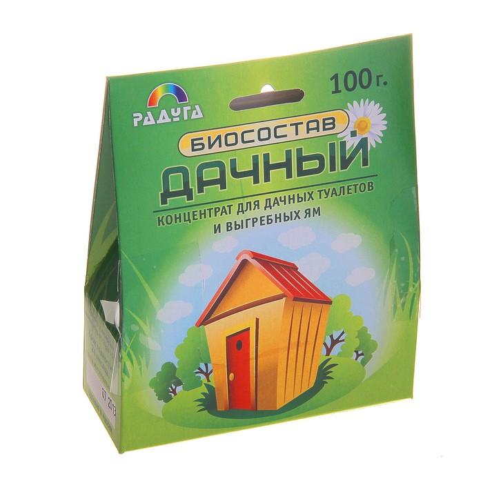 """Биосостав для дачных туалетов и выгребных ям """"Дачный"""" 100г"""