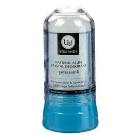 Дезодорант минеральный кристаллический U&I натуральный, 80 г