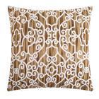 Наволочка декоративная 40х40 см, Pattern beige, 100% хлопок - фото 7404231