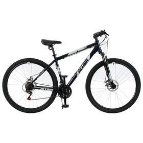 """Велосипед 29"""" Altair AL D, 2021, цвет темно-синий/серебристый, размер 21"""""""