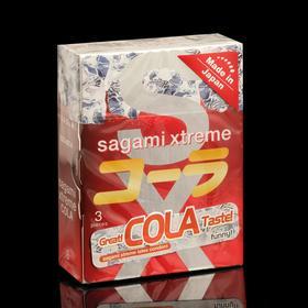 Презервативы Sagami Xtreme COLA, 3 шт./уп.