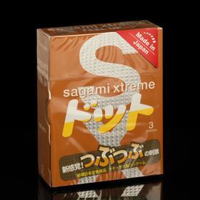Презервативы Sagami Xtreme Feel U, 3 шт./уп.