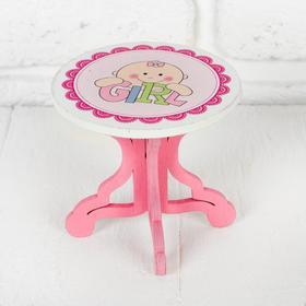 Столик для кукол, размер 9х8х9 см, виды МИКС