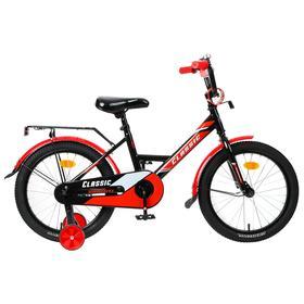 """Велосипед 18"""" Graffiti Classic, цвет черный/красный"""