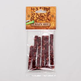 Мясная соломка с говядиной (для мелких собак) Crazy Bit