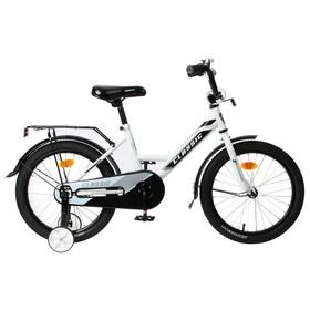 """Велосипед 18"""" Graffiti Classic, цвет белый/черный"""