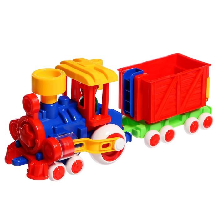 Паровозик «Ромашка с 1 вагоном» - фото 105650561