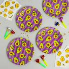 Набор посуды для праздника «Авокадо»