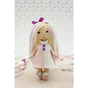Набор для создания куклы из фетра «Малышка Мия» серия «Подружки»