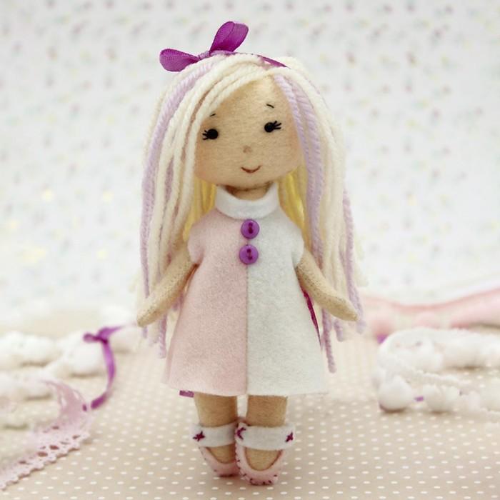 Набор для создания куклы из фетра «Малышка Мия» серия «Подружки» - фото 282126486