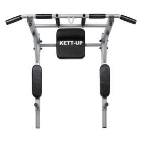 Турник Брусья 3 в 1 KETT-UP KRAFT, цвет серый/черный/черный