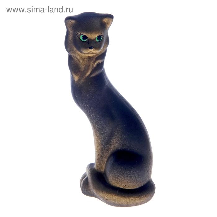 """Сувенир """"Кошка Маркиза"""" малая черная"""