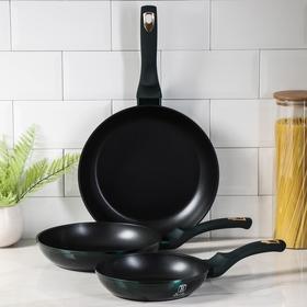 Набор посуды Berlinger Haus Emerald Collection, 3 сковороды