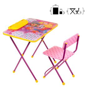 Набор детской мебели 'Винкс: Азбука 2' складной, цвет розовый Ош