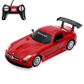 Car radio-controlled Mercedes-Benz SLS GT3 AMG, 1:24, battery operated, MIX
