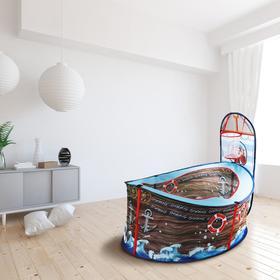Детская игровая палатка «Корабль» 125×52×55 см