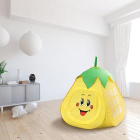 Детская игровая палатка «Фрукты» 80×80×100 см, МИКС
