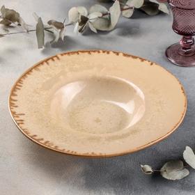 Тарелка для пасты Crema cristallina, 500 мл, d=31 см