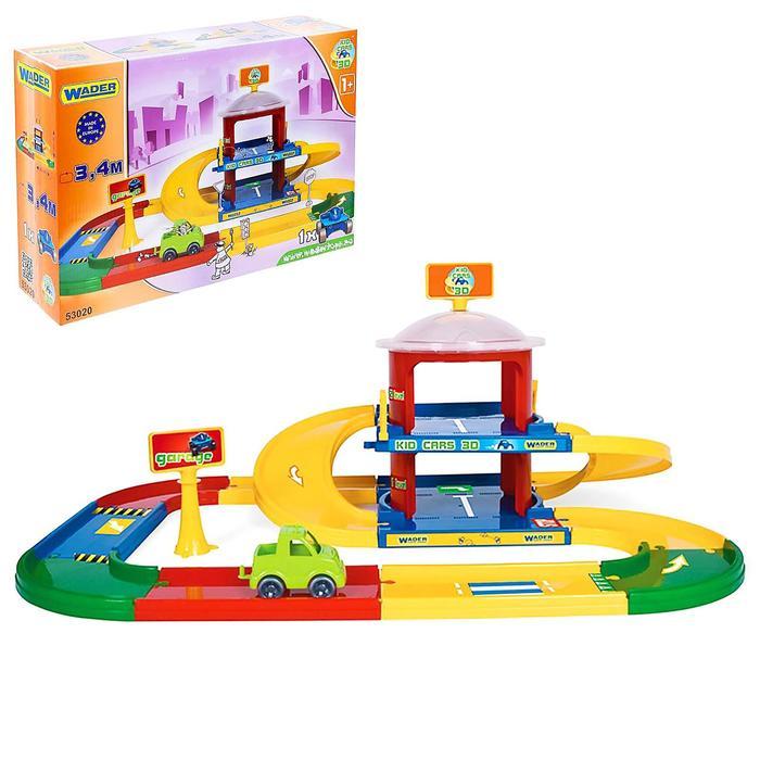 Гараж Kid Cars 3D, 2 этажа - фото 1572713