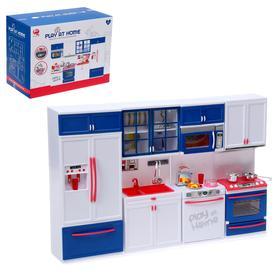 Набор игровой «Кухня» для кукол, свет, звук с аксессуарами