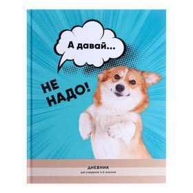 """Дневник для 1-4 классов """"Не надо!"""", твёрдая обложка, матовая ламинация, выборочный лак, 48 листов"""