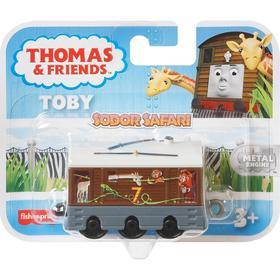 Трек-мастер «Тоби», паровозик c изображением животных