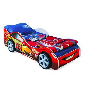 Детская кровать-машина Бельмарко «Тачка красная»