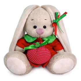 Мягкая игрушка «Зайка Ми в красном пальто», 15 см