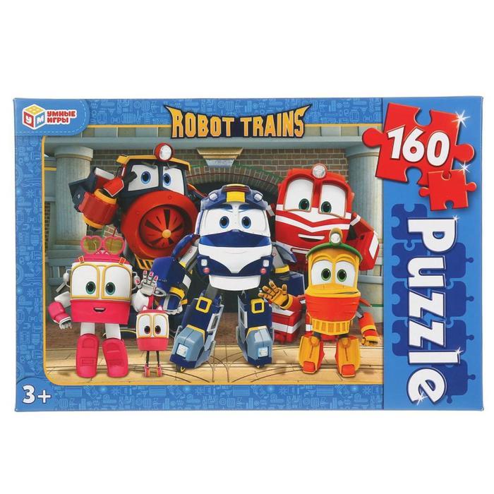 Пазл 160 элементов Robot Trains - фото 282126681