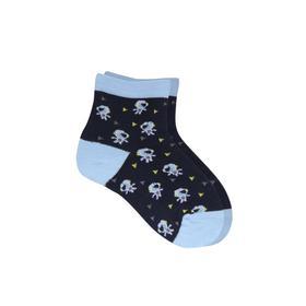 Носки детские, цвет синий, размер 16