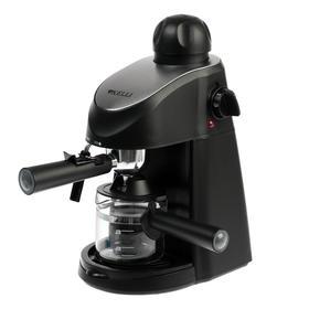 Кофеварка KELLI KL-1491, рожковая, 1200 Вт, 0.24 л, капучинатор, чёрная