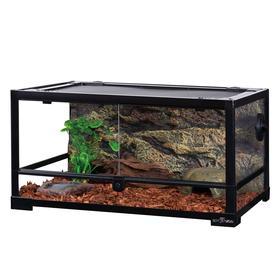 Террариум сборный вентилируемый, без декора, 60 х 45 х 30 см