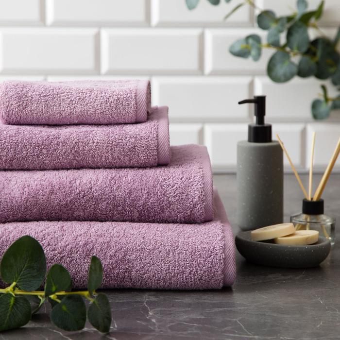 "Полотенце махровое ""Этель"" Organic Lavender 70х130 см, 100% хл, 420гр/м2 - фото 774586"