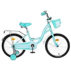 """Велосипед 18"""" Graffiti Premium Girl, цвет мятный/белый"""